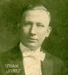 photo portrait of Isham Jones, 1922